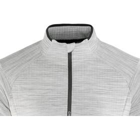 Craft Grid Halfzip Men grey melange